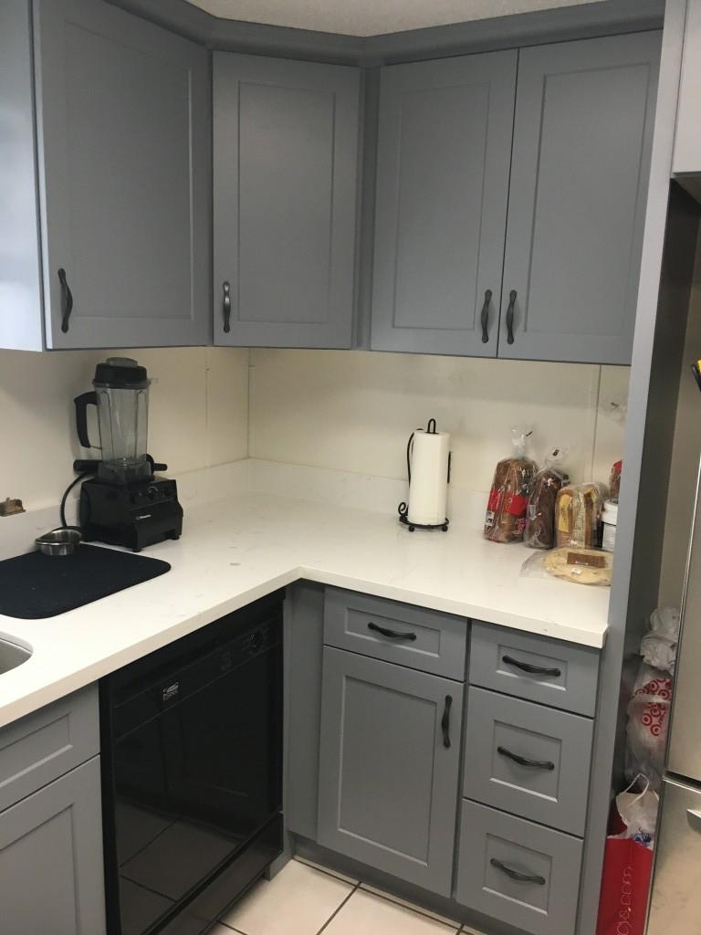 Gray Shaker Kitchen Cabinets Gray Shaker Premium Cabinets