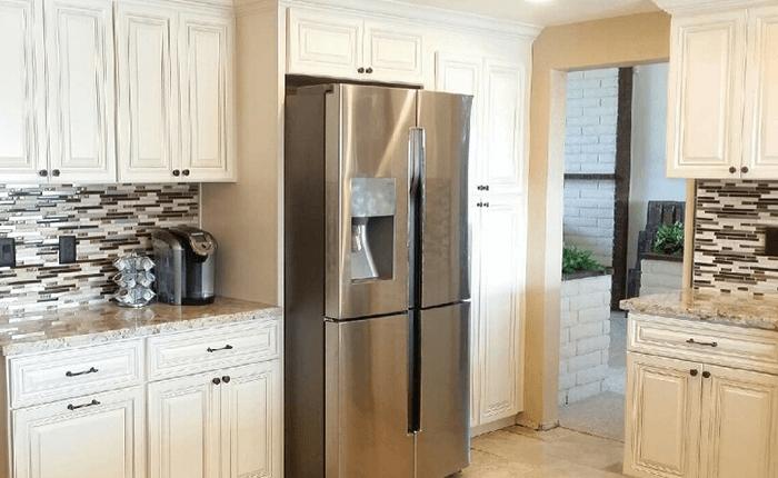 Premium cabinets tulsa bar cabinet for Kitchen cabinets tulsa