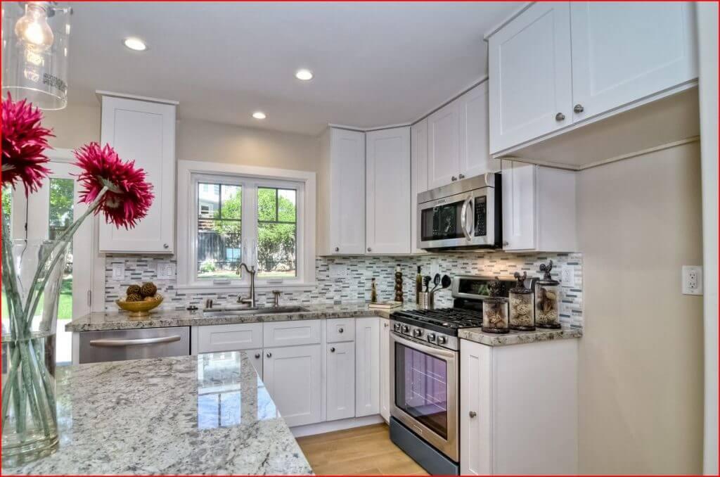 Shaker white premium cabinets for Best big box store kitchen cabinets