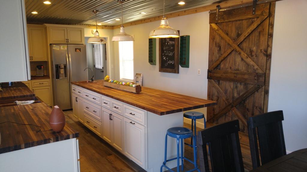 Country Linen Premium Kitchen Premium Cabinets