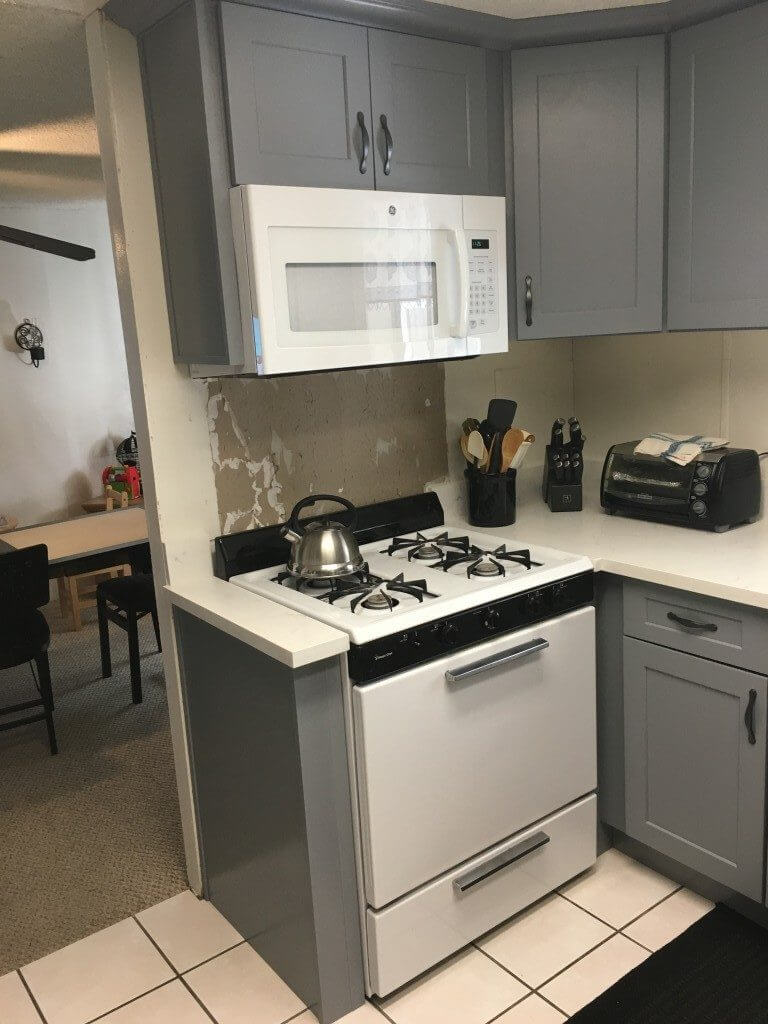 Gray shaker premium cabinets for Best big box store kitchen cabinets