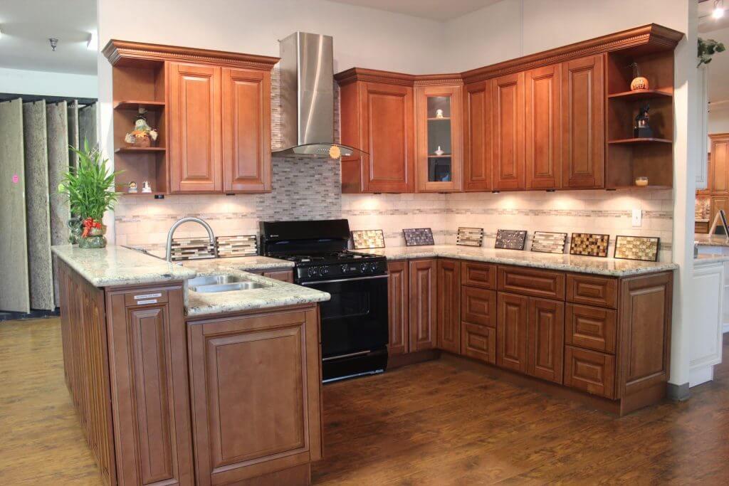 Maple Mocha Raised Panel Cabinets   Premium Cabinets