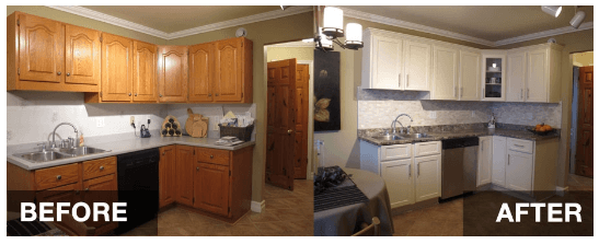 Refacing The Kitchen Cabinets. First: Check And Examine The Overall Outlook  Of Your Cabinet, And Determine Whether The Post Restoration Process Will  Make It ...