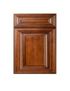 Honey Oak With Ebony Glaze Kitchen Cabinets