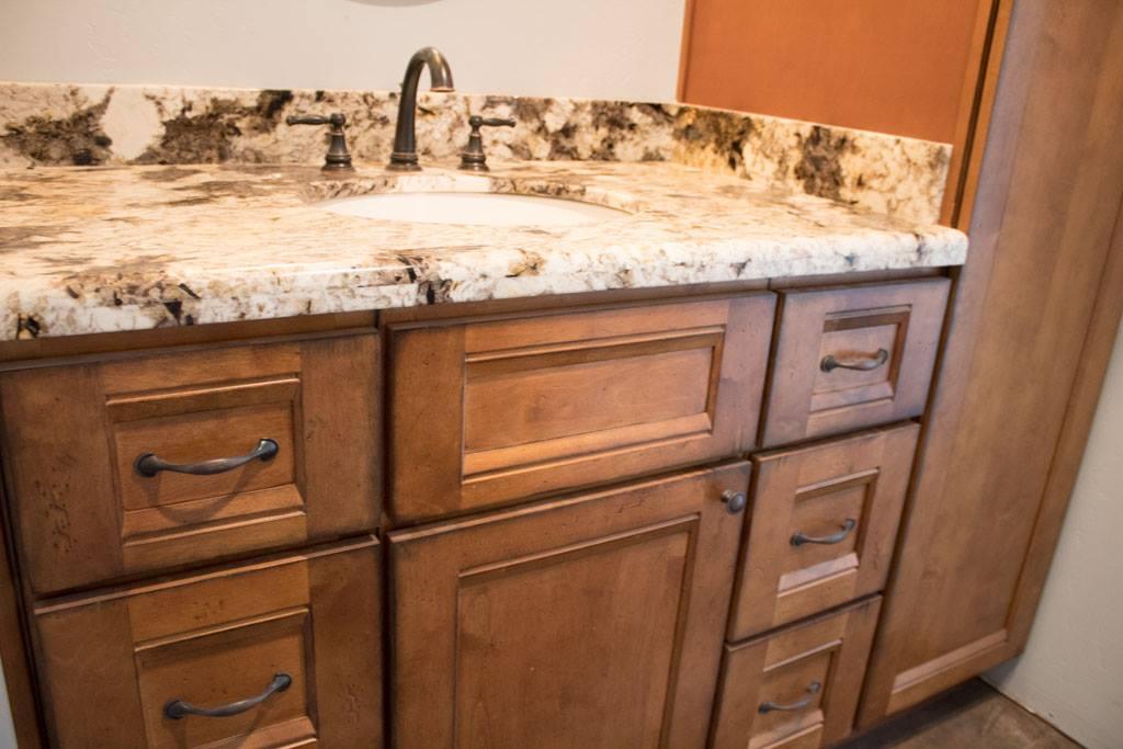 Brown Shaker Kitchen Cabinets | Premium Cabinets