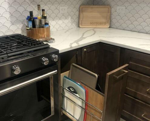 Preston White Shaker Kitchen Cabinets