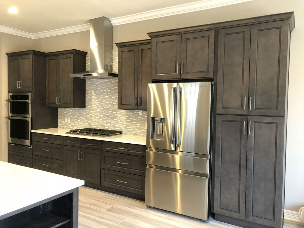 Stone Gray Shaker Kitchen Cabinets | Premium Cabinets